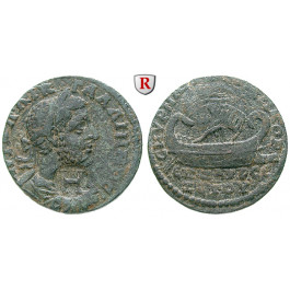 Römische Provinzialprägungen, Ionien, Smyrna, Gallienus, Bronze, ss+