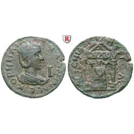 Römische Provinzialprägungen, Pamphylien, Perge, Salonina, Frau des Gallienus, Bronze, ss+