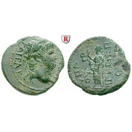 Römische Provinzialprägungen, Lydien, Hypaipa, Nero, Bronze, ss+