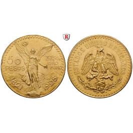 Mexiko, Vereinigte Staaten, 50 Pesos 1928, 37,5 g fein, f.vz