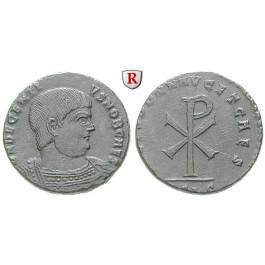Römische Kaiserzeit, Decentius, Bronze 353, vz-st