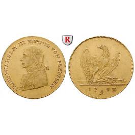 Brandenburg-Preussen, Königreich Preussen, Friedrich Wilhelm III., Friedrichs d`or 1798, ss-vz