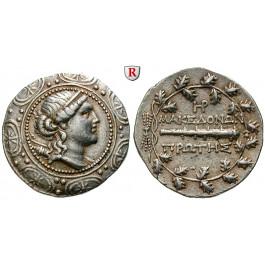 Makedonien-Römische Provinz, Freistaat, Tetradrachme 158-150 v.Chr., ss-vz