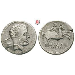 Spanien, Osca, Denar 150-100 v.Chr., f.vz