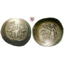 Byzanz, Isaac II. Angelus, Aspron Trachy, vz