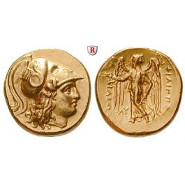 Makedonien, Königreich, Philipp III., Stater 323-317 v.Chr., vz+