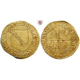 Spanien, Kastilien und Leon - Königreich, Juan II., Dobla de la Banda o.J., f.vz