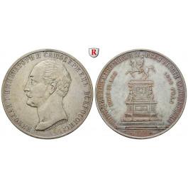 Russland, Alexander II., Rubel 1859, ss-vz