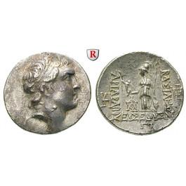 Kappadokien, Königreich, Ariarathes V., Drachme Jahr 33 = 131-130 v.Chr., ss-vz/vz