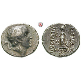 Kappadokien, Königreich, Ariobarzanes I., Drachme Jahr 14 = 82-81 v.Chr., ss-vz