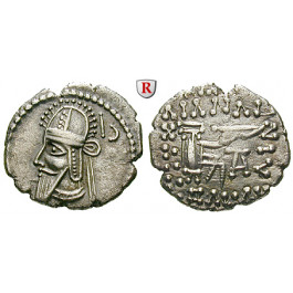 Parthien, Königreich, Vologases VI., Drachme 208-228, ss-vz