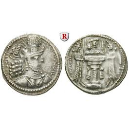 Sasaniden, Shapur II., Drachme 309-379, ss-vz