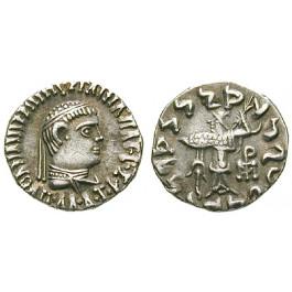 Baktrien und Indien, Königreich Baktrien, Apollodotos II. Philopator, Drachme, f.vz
