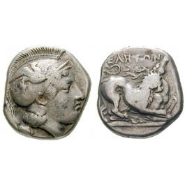 Italien-Lukanien, Velia, Didrachme 440-400 v.Chr., ss