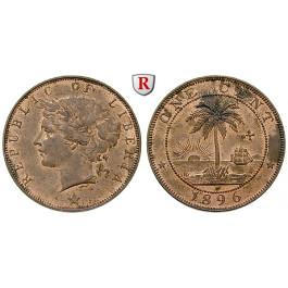 Liberia, Cent 1906, f.st