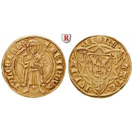 Jülich-Kleve-Berg, Herzogtum Jülich, Reinald IV., Goldgulden o.J., ss-vz