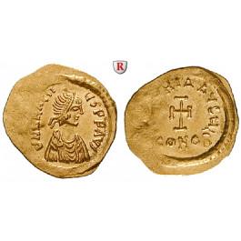 Byzanz, Heraclius, Tremissis 610-613, ss-vz