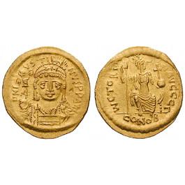 Byzanz, Justin II., Solidus 567-578, ss-vz