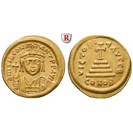 Byzanz, Tiberius II. Constantinus, Solidus 579-582, f.vz