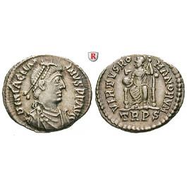 Römische Kaiserzeit, Magnus Maximus, Siliqua 383-388, ss-vz