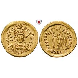 Römische Kaiserzeit, Leo I., Solidus 457-568, f.vz