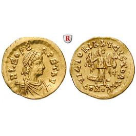 Römische Kaiserzeit, Leo I., Tremissis, ss-vz