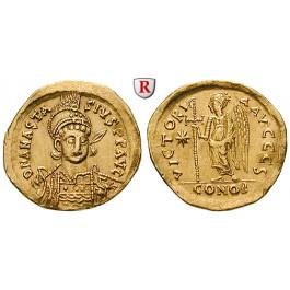 Byzanz, Anastasius I., Solidus 491-498, ss-vz