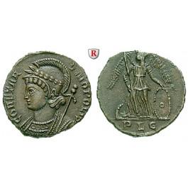 Römische Kaiserzeit, Constantinus I., Follis 330-331, vz