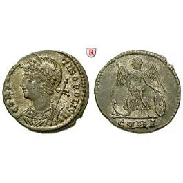 Römische Kaiserzeit, Constantinus I., Follis 333-335, vz