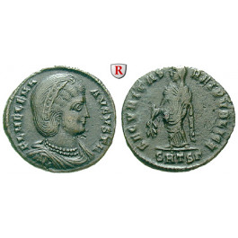 Römische Kaiserzeit, Helena, Mutter Constantinus I., Follis 326-328, ss-vz