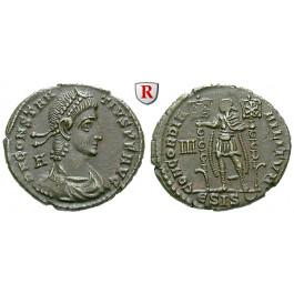 Römische Kaiserzeit, Constantius II., Bronze 350, vz