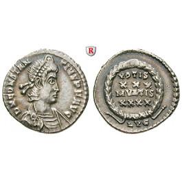 Römische Kaiserzeit, Constantius II., Siliqua 360-361, f.vz