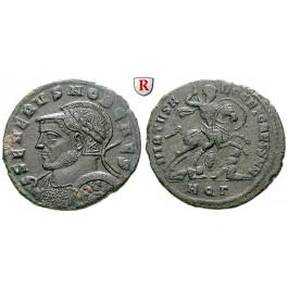 Römische Kaiserzeit, Severus II., Caesar, Follis 305-306, f.vz
