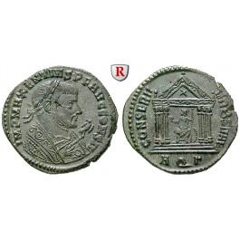 Römische Kaiserzeit, Maxentius, Follis 307-310, vz-st