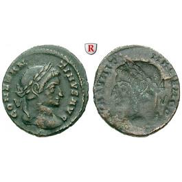 Römische Kaiserzeit, Constantinus I., Follis, ss+