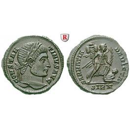 Römische Kaiserzeit, Constantinus I., Follis 324-325, vz-st
