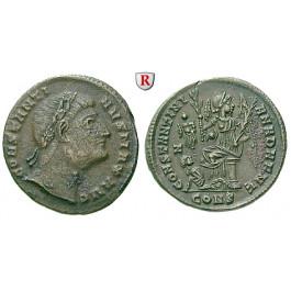 Römische Kaiserzeit, Constantinus I., Follis 328, ss-vz/vz
