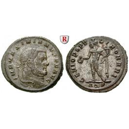 Römische Kaiserzeit, Maximianus Herculius, Follis 299, vz
