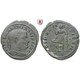 Römische Kaiserzeit, Maximianus Herculius, Follis 305, vz