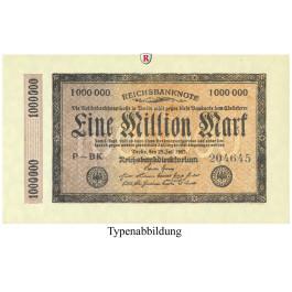 Inflation 1919-1924, 1 Mio Mark 25.07.1923, II, Rb. 93