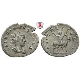 Römische Kaiserzeit, Valerianus II., Caesar, Antoninian 257-258, vz