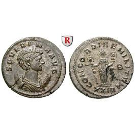 Römische Kaiserzeit, Severina, Frau des Aurelianus, Antoninian 275, vz-st