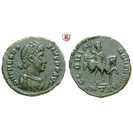 Römische Kaiserzeit, Theodosius I., Bronze 392-395, ss+
