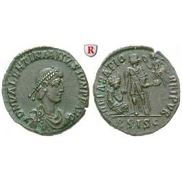 Römische Kaiserzeit, Valentinianus II., Bronze 378-383, ss-vz