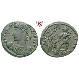Römische Kaiserzeit, Constantius II., Bronze 348-350, ss-vz