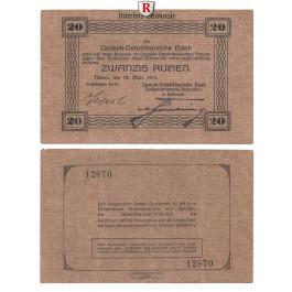 Deutsch-Ostafrika, 20 Rupien 15.03.1915, II, Rb. 906a
