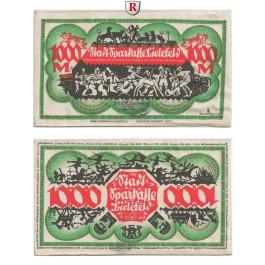 Notgeld der besonderen Art, Bielefeld, 1000 Mark 15.12.1922, I