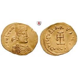 Byzanz, Constantinus IV. Pogonatus, Tremissis 669-674, f.vz