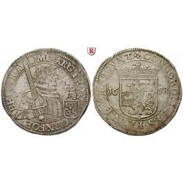 Niederlande, Utrecht, Reichstaler 1658, f.vz