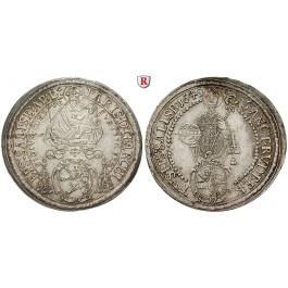 Salzburg, Bistum, Paris von Lodron, Reichstaler 1649, vz